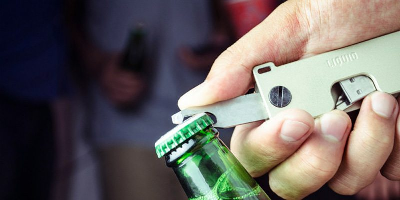 The Key Caddy bottle opener