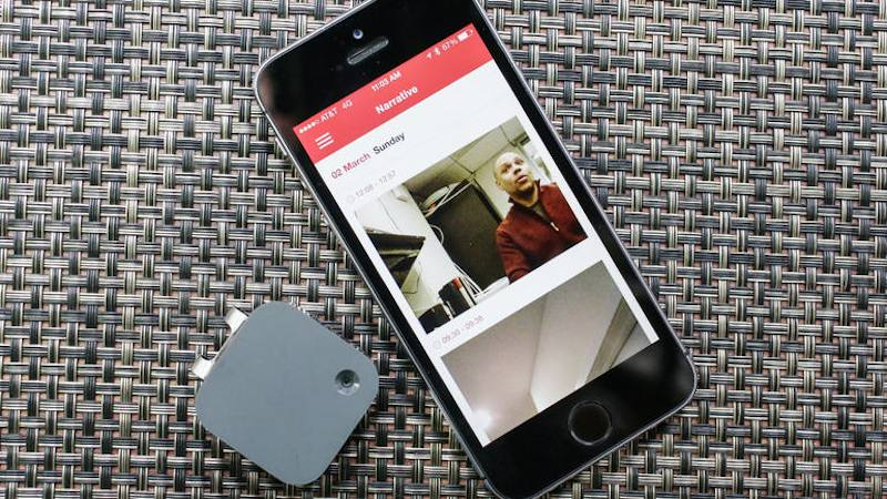 Narrative Clip 2 with official app