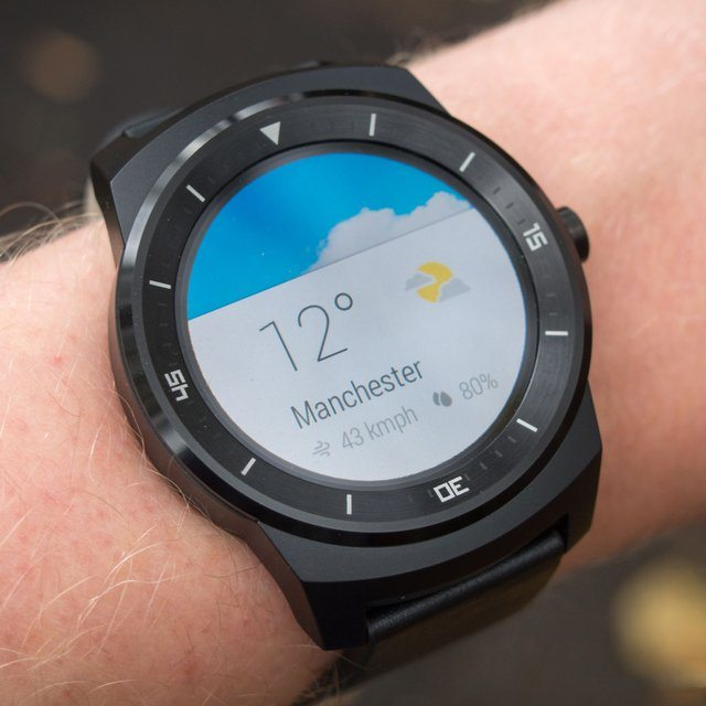 Android Wear Circle Smart