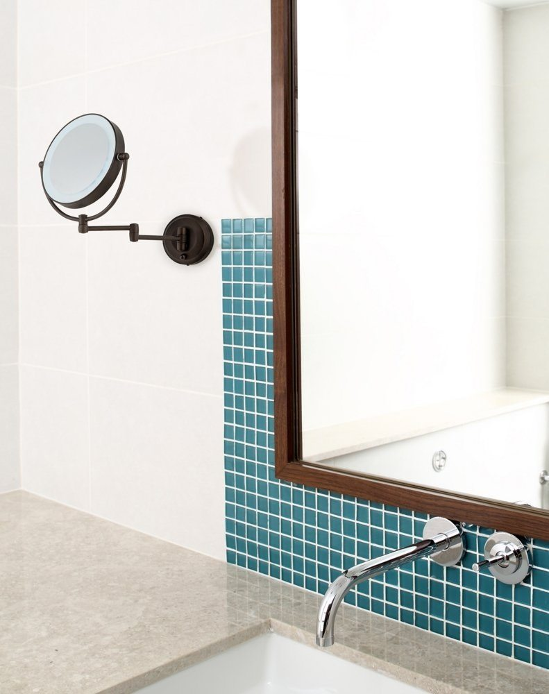 Battery Powered Wall Mount Mirror