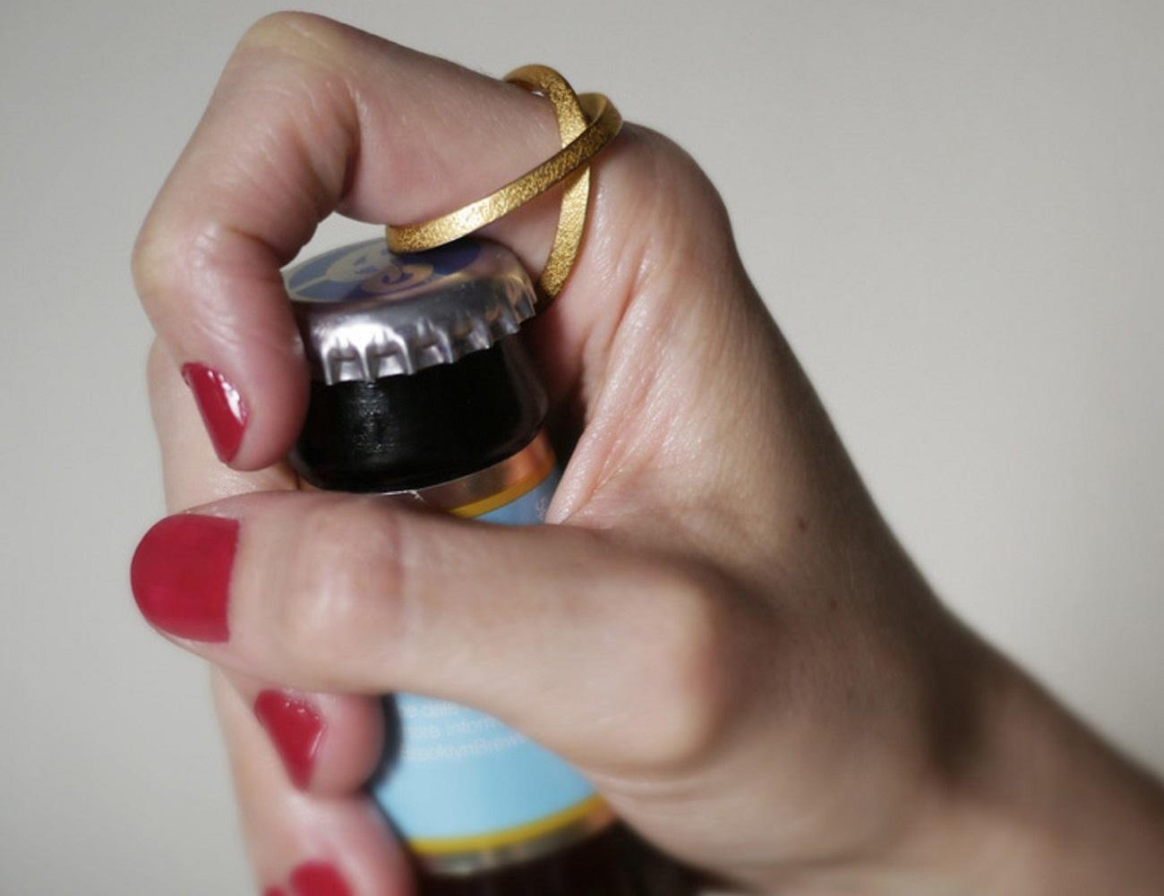 Bottle-Opening Ring