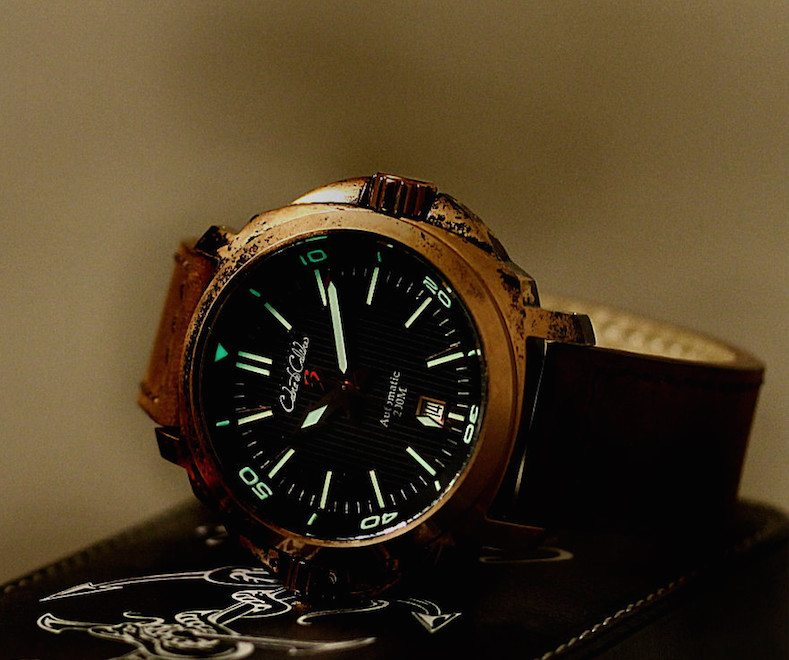 Bronze Black Dial