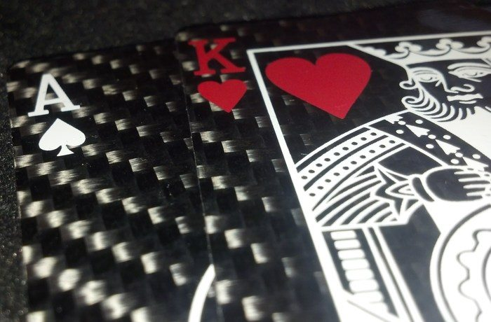 Carbon Fiber Playing Cards with Bullet Proof Kevlar