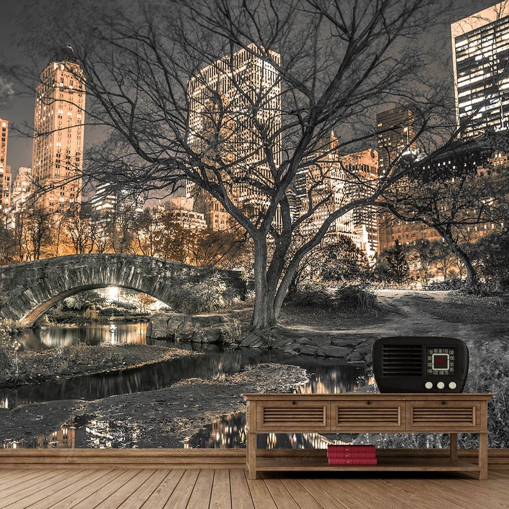 Central Park Wall Mural