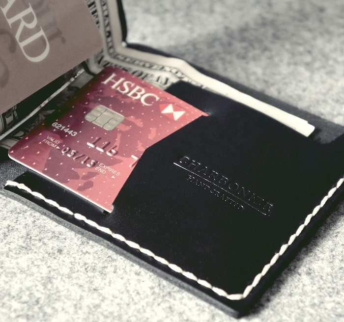 Clip Wallet – Genuine Italian Leather Handcrafted Wallet