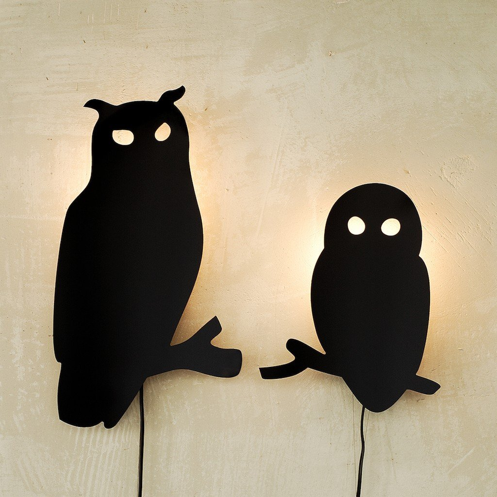 Eagle Owl Wall Lamp