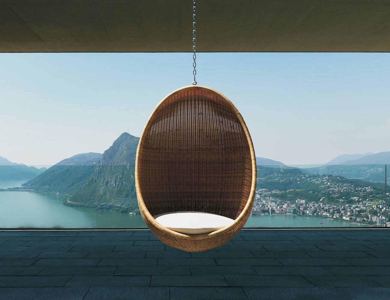 If You Want To Lounge In Style This Is The Egg Chair You