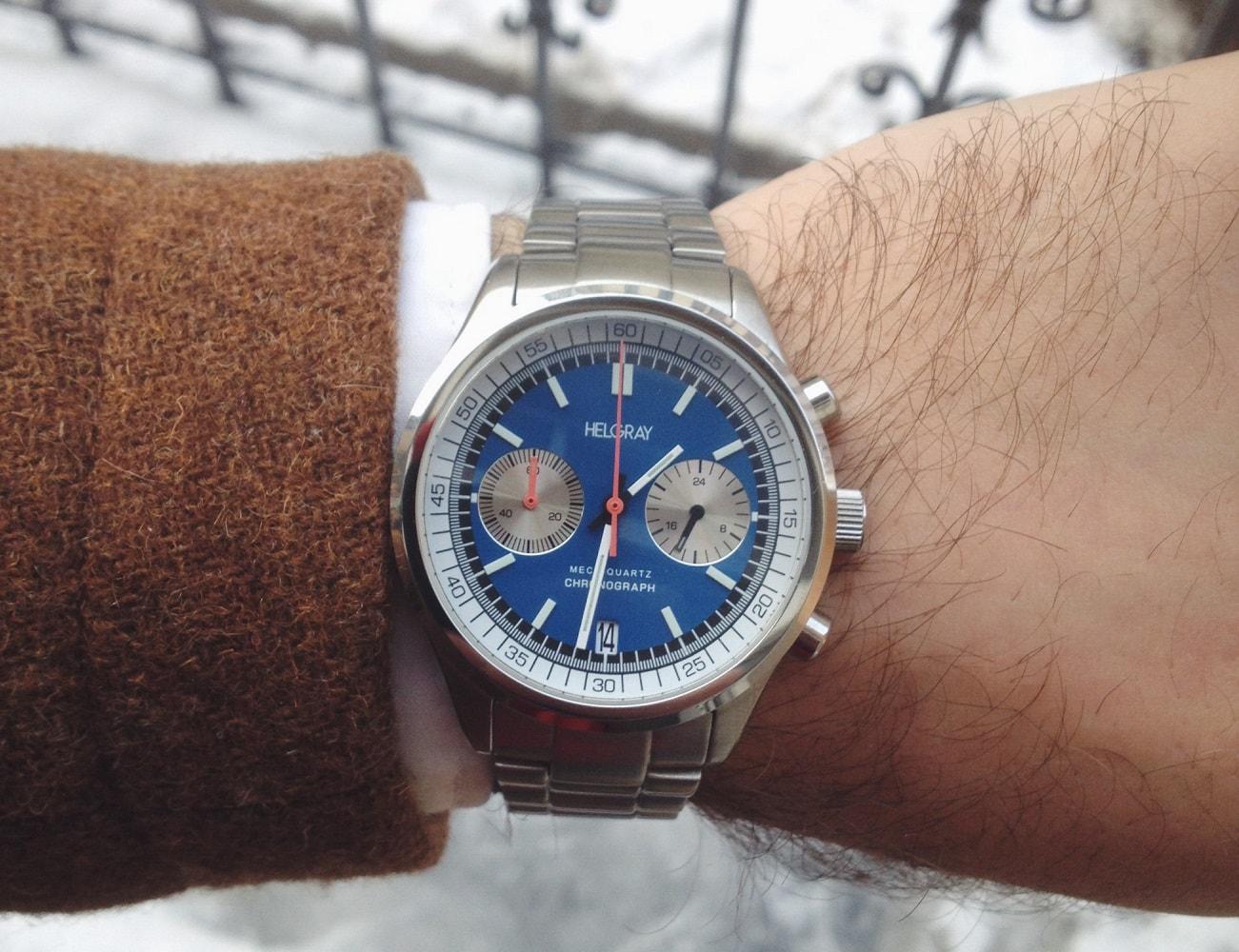 Helgray Silverstone 60's Racing Chronograph