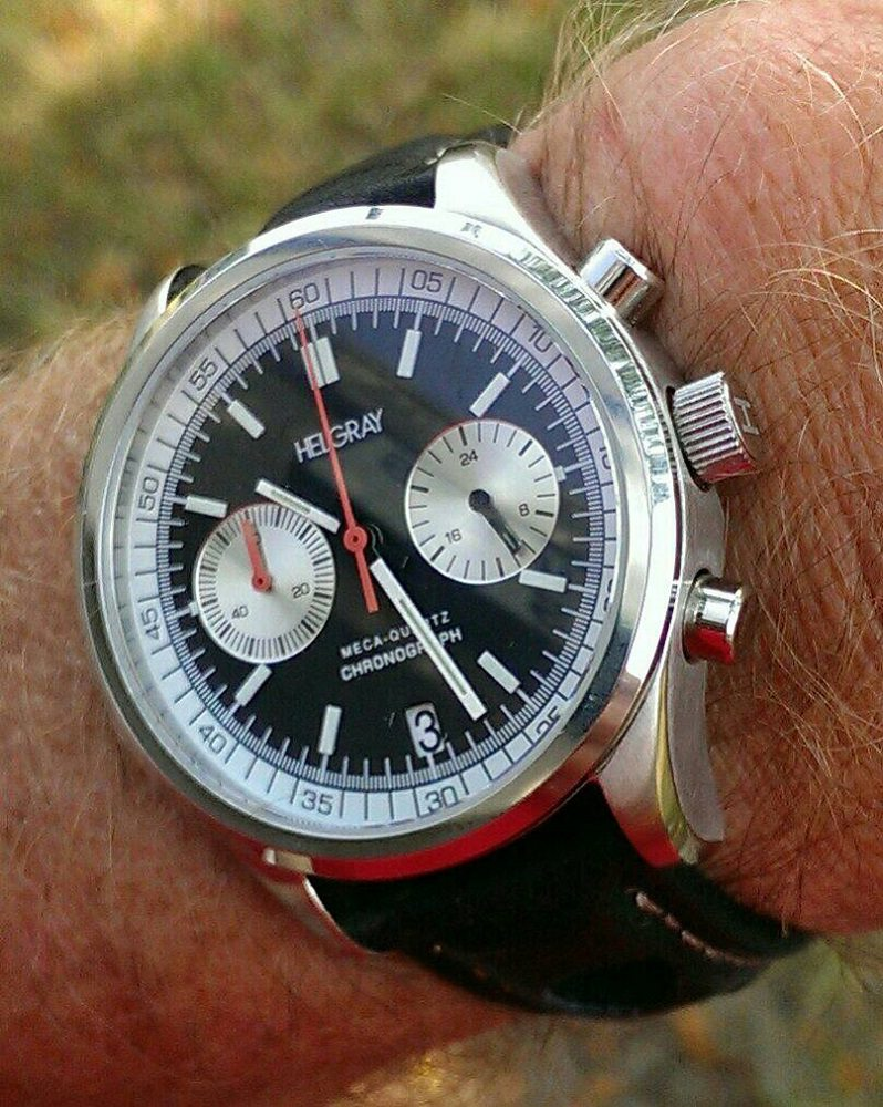 Helgray Silverstone 60's Racing Chronograph