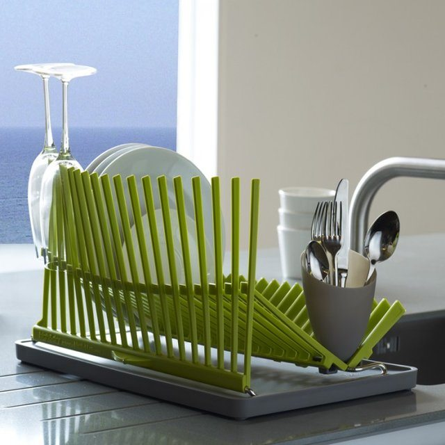 High & Dry Dish Rack by Black + Blum