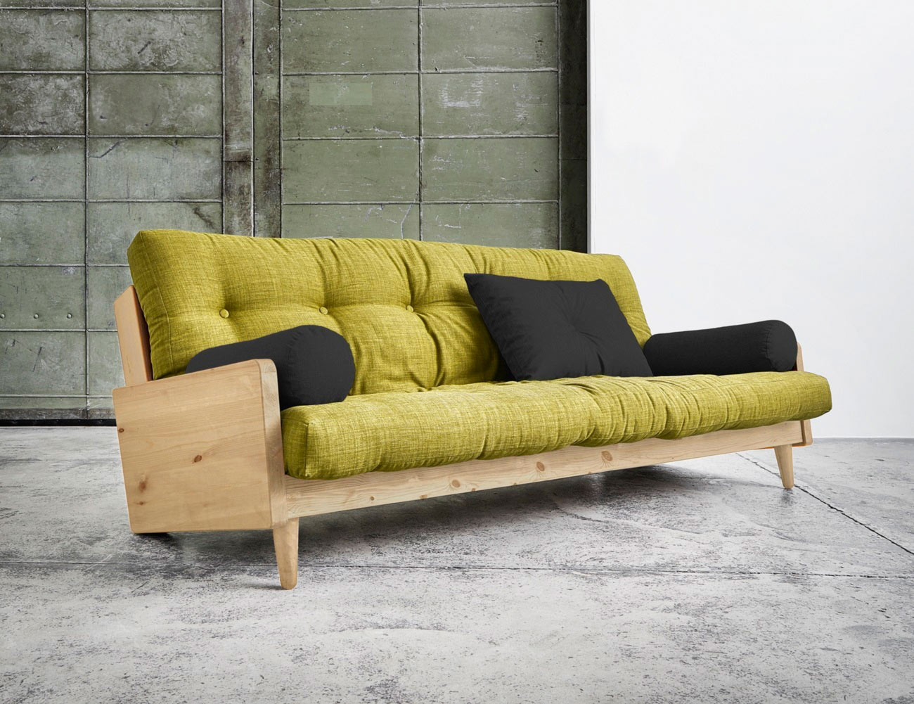 indie sofa bed by karup gadget flow. Black Bedroom Furniture Sets. Home Design Ideas