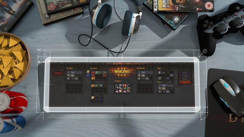 101touch keyboard world of warcraft settings