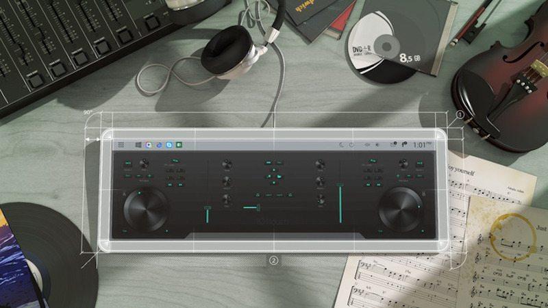 101touch keyboard digital music mixer