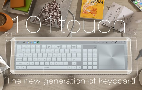 101touch: The Adaptive, Digital Keyboard For All Your Computer Needs
