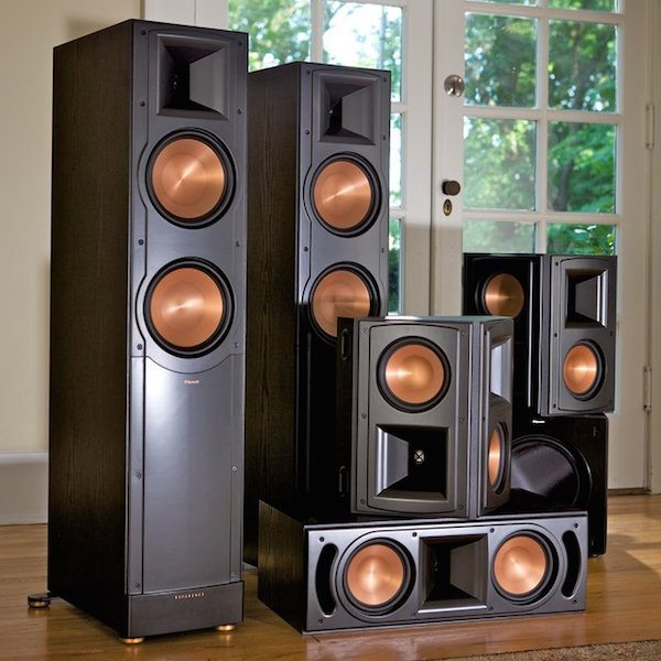 klipsch rf 62 ii home theater system review. Black Bedroom Furniture Sets. Home Design Ideas