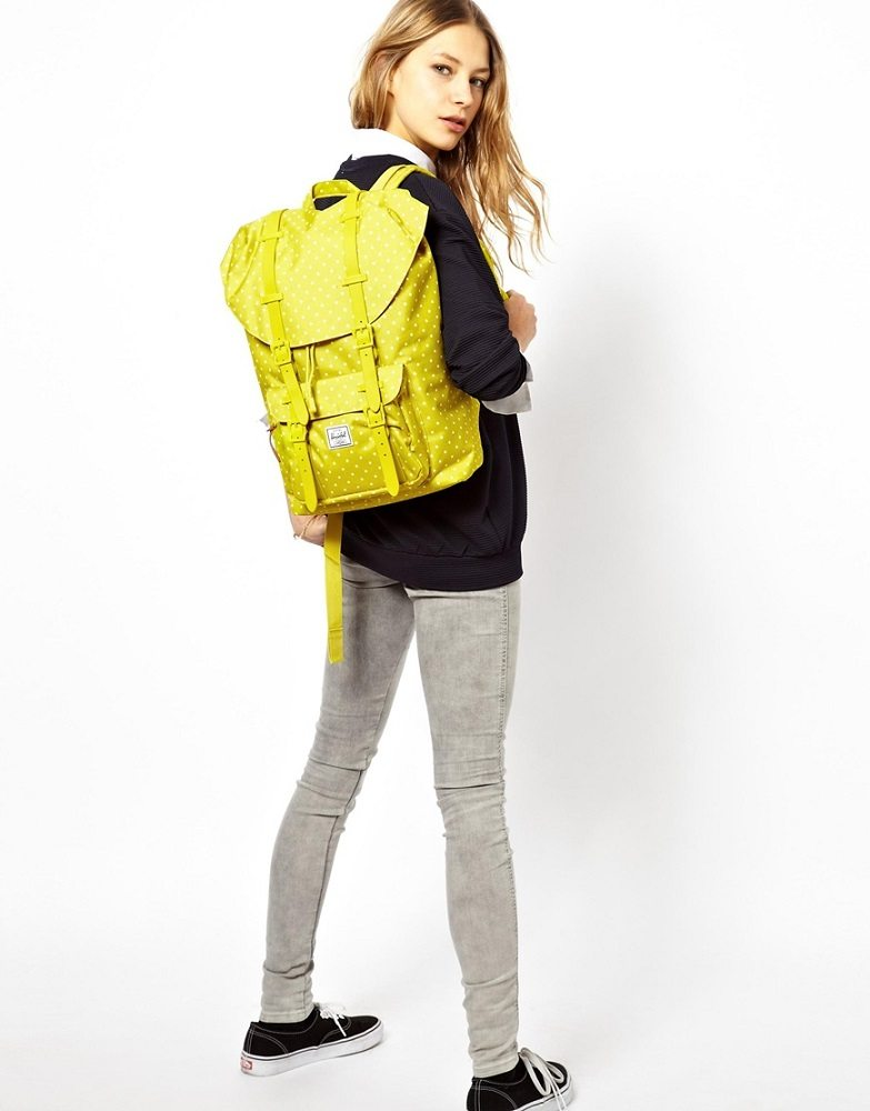 Little America Khaki Backpack by Herschel Supply Co