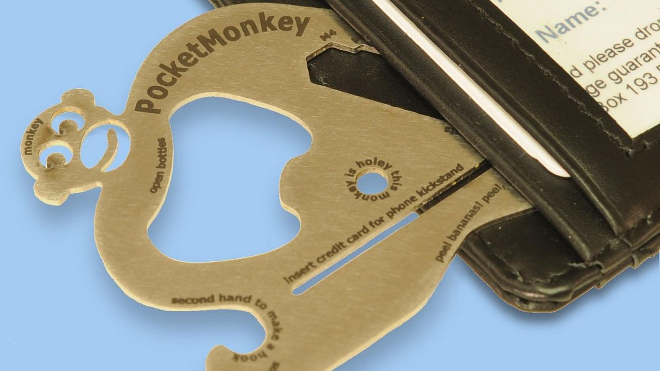 Pocket Monkey Wallet Multitool