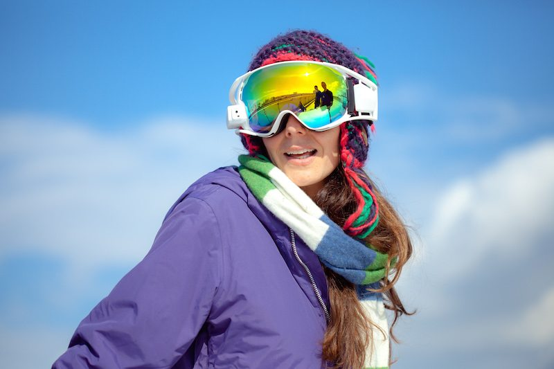 RideOn Ski Goggles Offer a Heads-Up Display to Piste Surfers