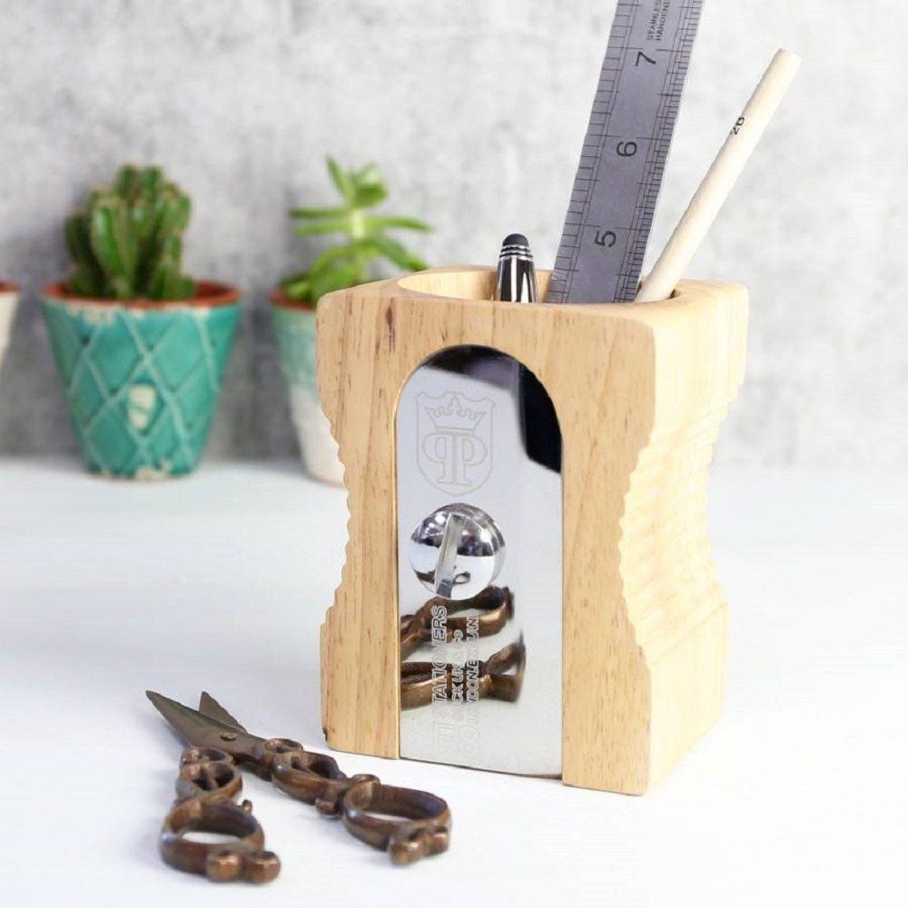 Sharpener desk tidy a sharpener like pen stand gadget flow - Pencil sharpener desk tidy ...