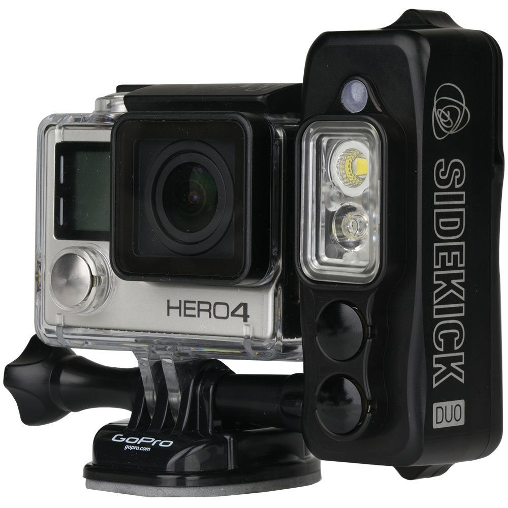 Sidekick – A Gopro Light To Capture Perfect Imagery At Night