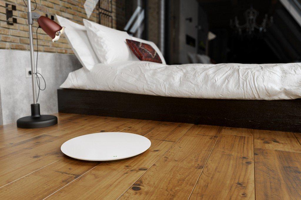 QardioBase in bedroom
