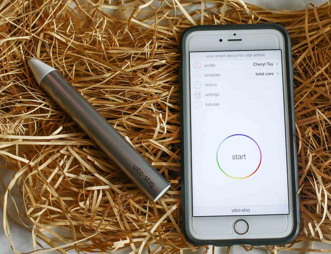 Vitastiq – A smart device for vital advice