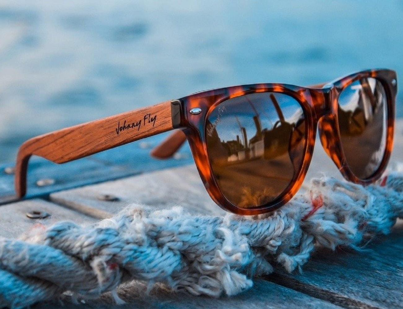 WayFLYer Redwood Violet Polarized Sunglasses