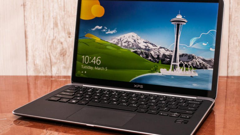Dell XPS 13 Ultrabook with Touch Screen