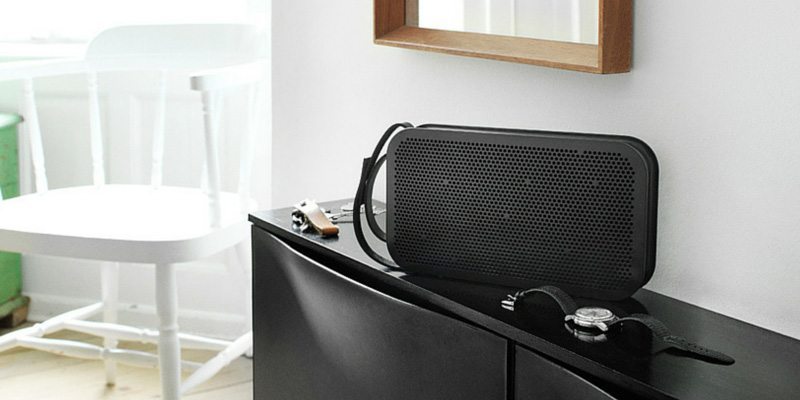 BeoPlay A2 speaker in black
