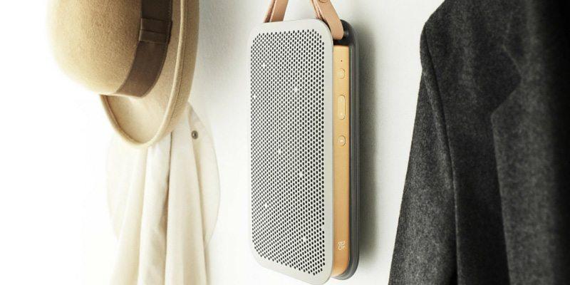 BeoPlay A2 speaker in silver