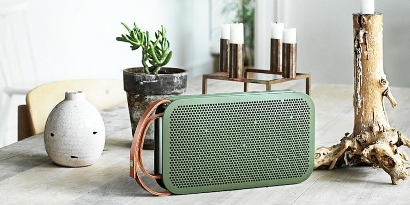 BeoPlay A2 speaker in green