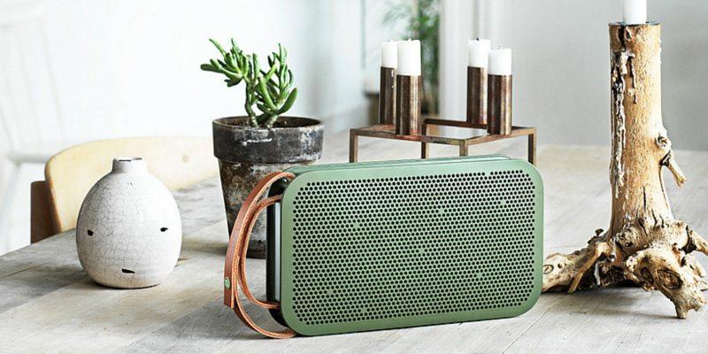 BeoPlay A2 speaker in green
