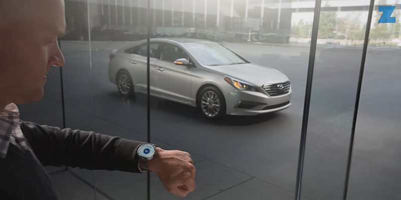 Hyundai Blue Link app for smartwatches