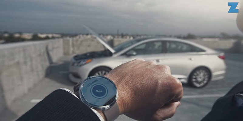 Hyundai Blue Link Android Wear app