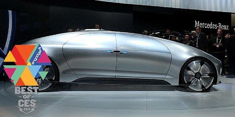 Mercedes Best of CES 2015 awardeee