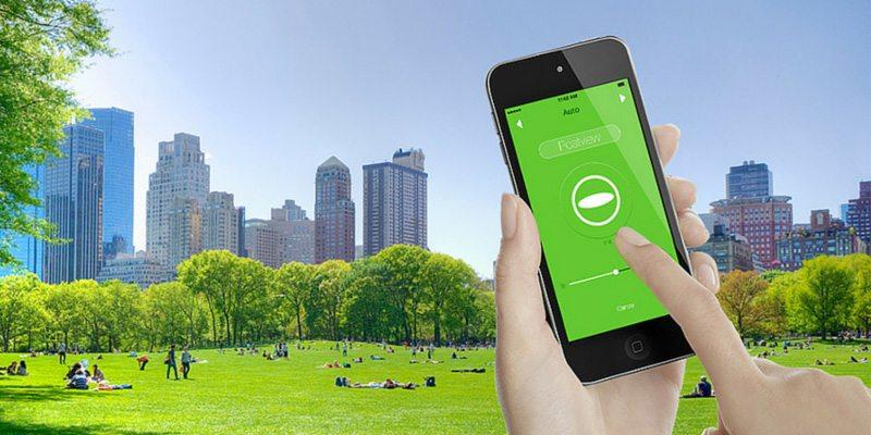 RICOH THETA 360-degree camera mobile app