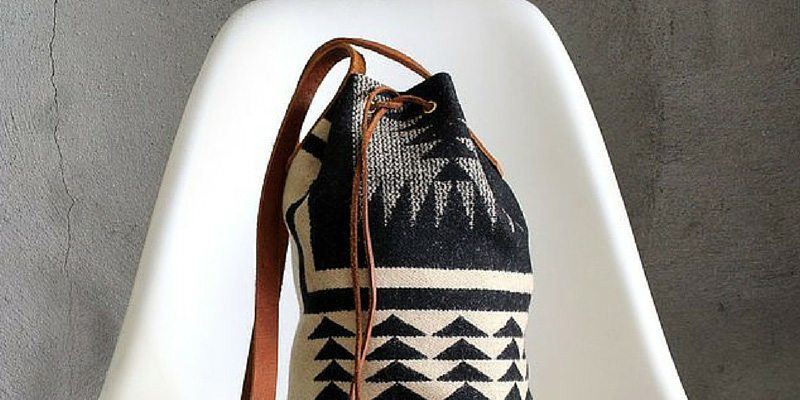 Pendleton Bucket Bag