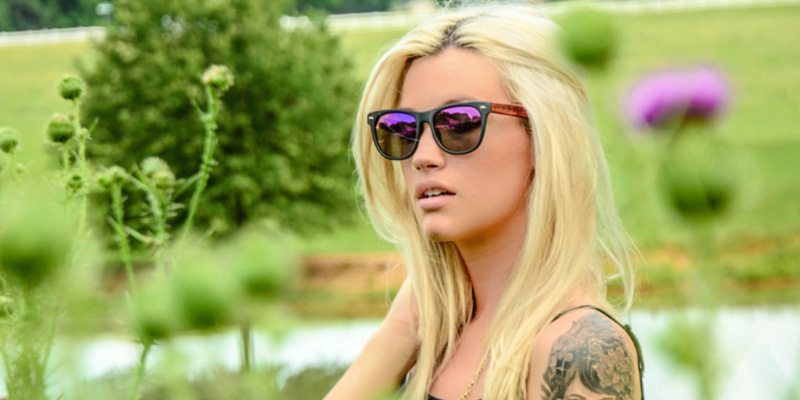 WayFLYer Redwood Violet Polarized Sunglasses