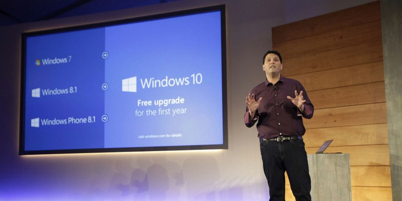 Windows 10 event coverage