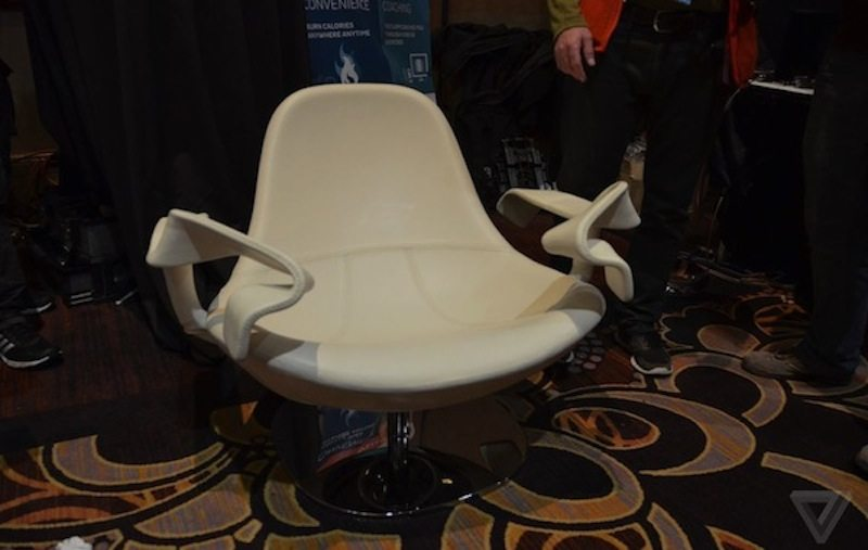 Tao Chair front view CES 2015