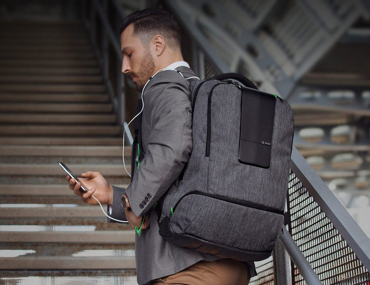 AMPL – The World's Smartest Backpack