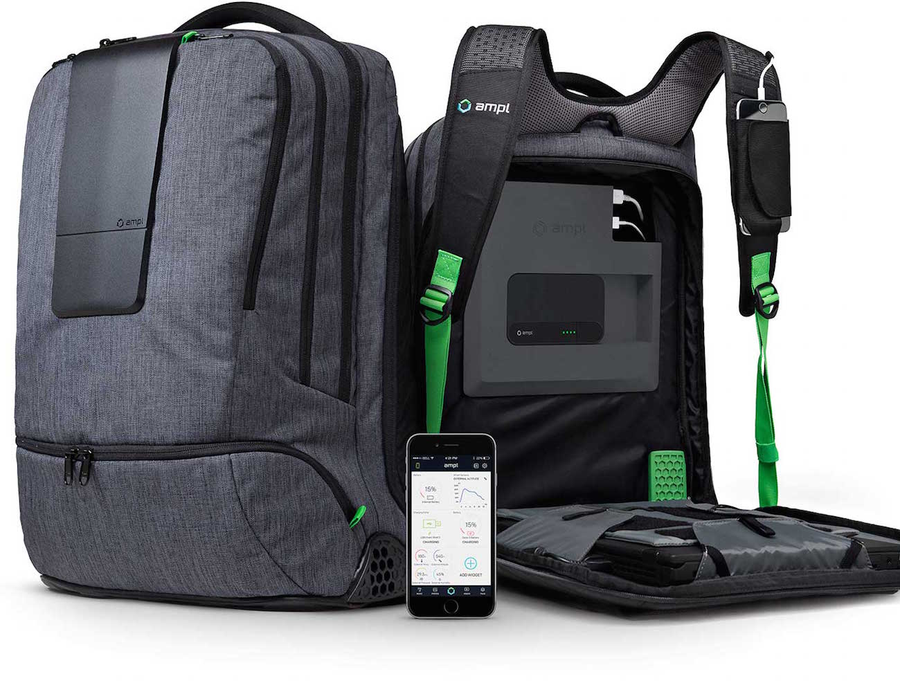 AMPL – The World's Smartest Backpack