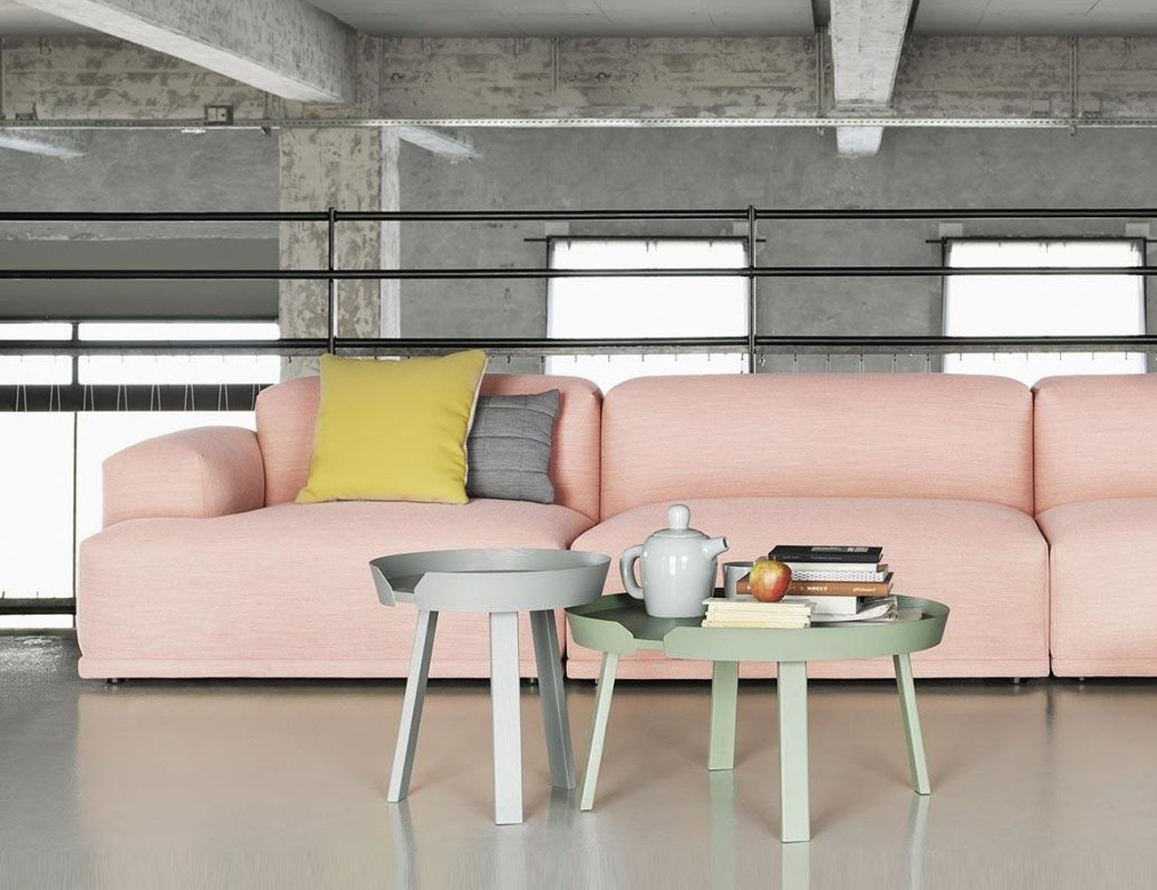 Around Coffee Table By Muuto Gadget Flow