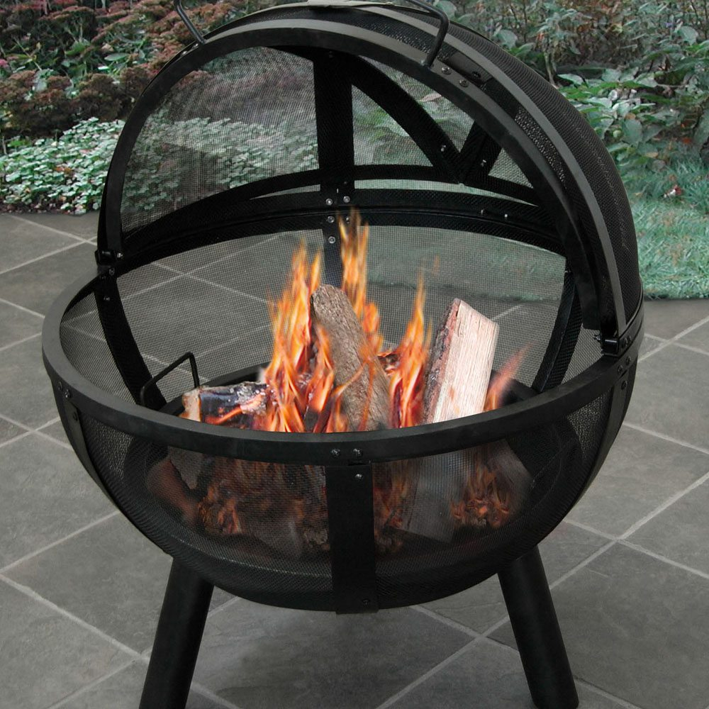 Ball of Fire Outdoor Fire Pit
