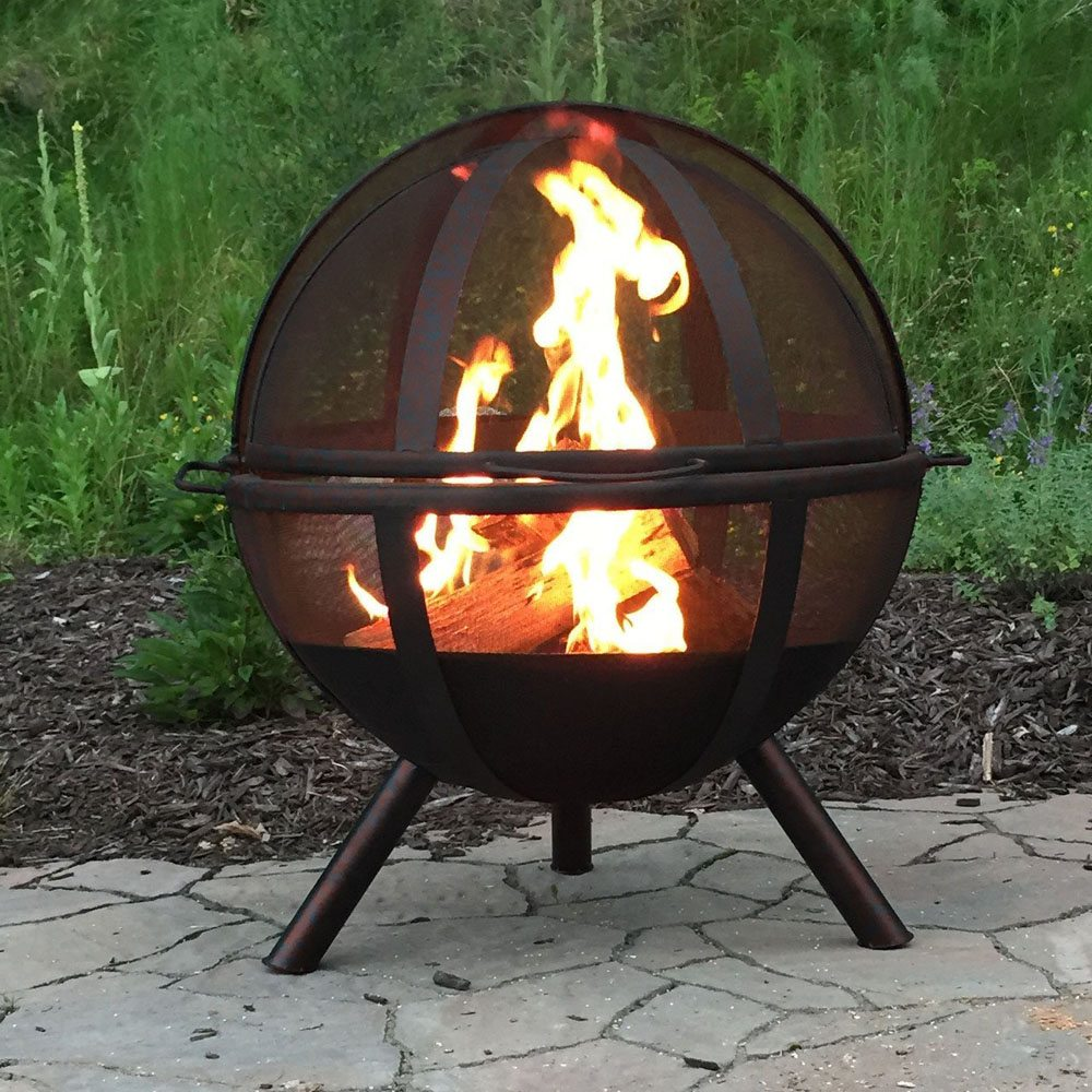 Ball of Fire Outdoor Fire Pit » Gadget Flow