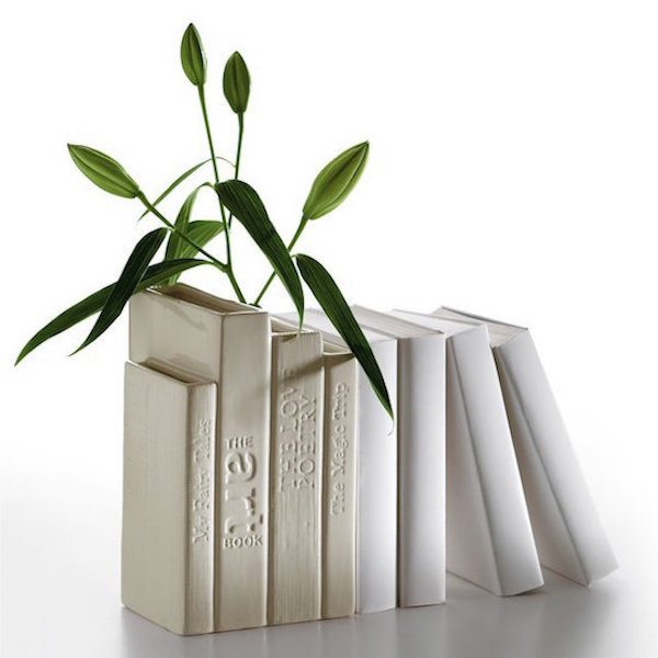 Bibliotek Vase by Seletti – A set of Book Shaped Vases
