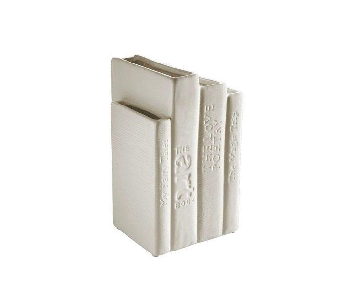 Bibliotek Vase by Seletti – A set of Book Shaped Vases