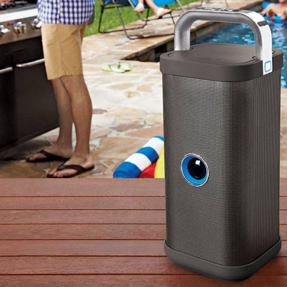 Big Blue Party Indoor-Outdoor Speaker – Wireless and Water Resistant