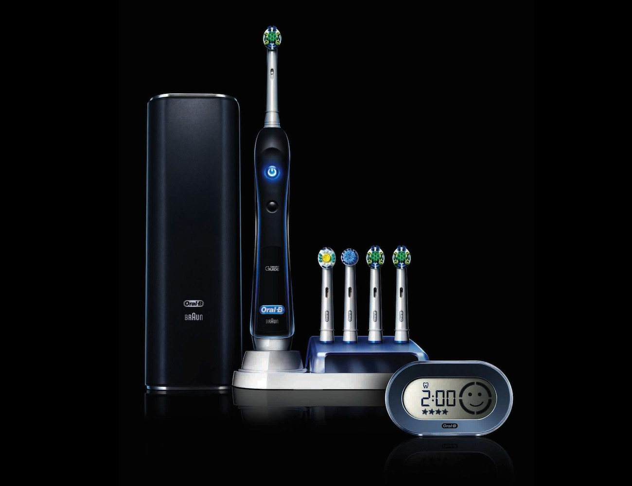 black oral b pro 7000 gadget flow. Black Bedroom Furniture Sets. Home Design Ideas