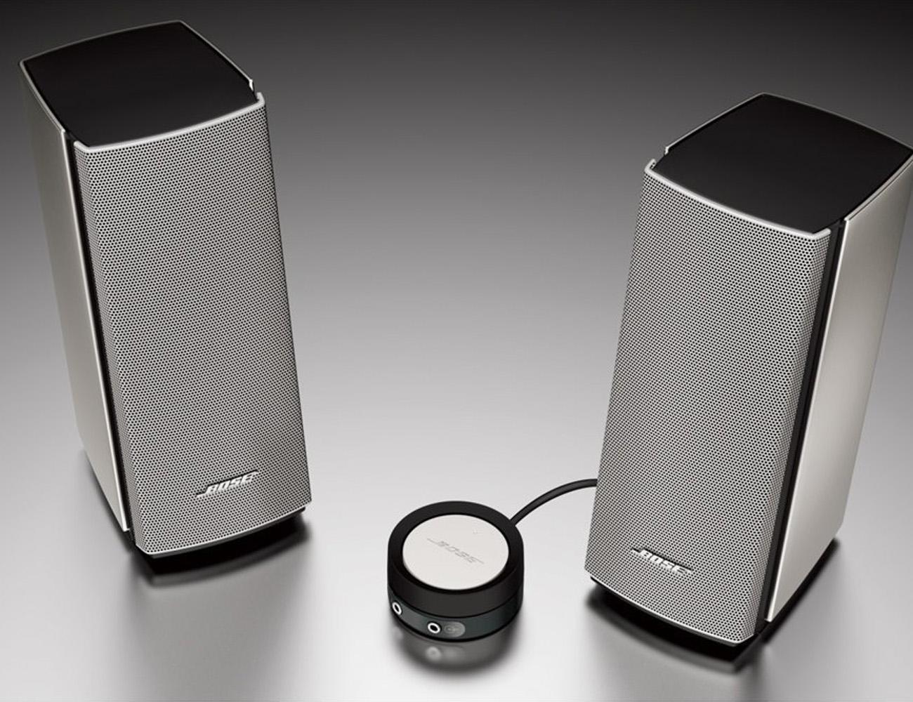 bose companion 20 multimedia speaker system gadget flow. Black Bedroom Furniture Sets. Home Design Ideas